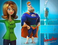 Ejik 3d commercial animation