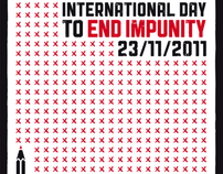 Poster competition IFEX_Int. day to end impunity