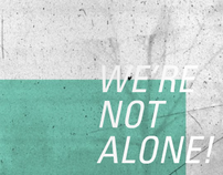 Were not alone