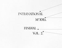 International Model Festival / invitation card&brochure