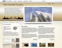 Salem Leadership Foundation website concepts