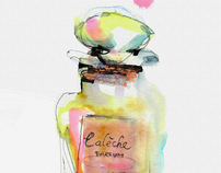 Perfumes Illustration