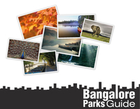 Bangalore parks guide - Information architecture