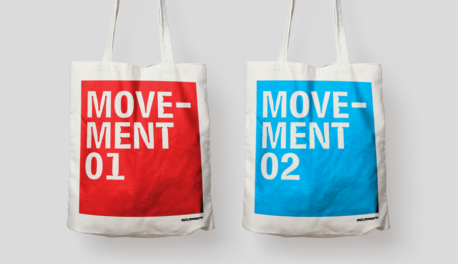 Movement Concert Label / Identity & Branding