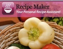 Recipemaker app for iPhone