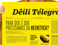 Dêili Télegraf - A Typographic Publication