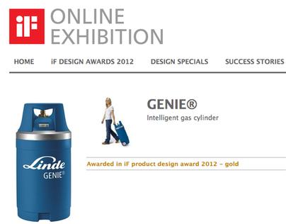 High Pressure Cylinder for Linde