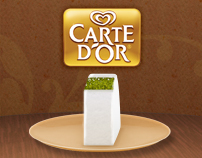 Carte d'Or Facebook App Design