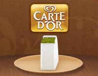 Carte dOr Facebook App Design