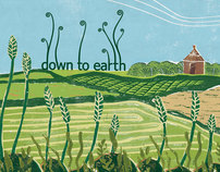 Down To Earth: Lino Print