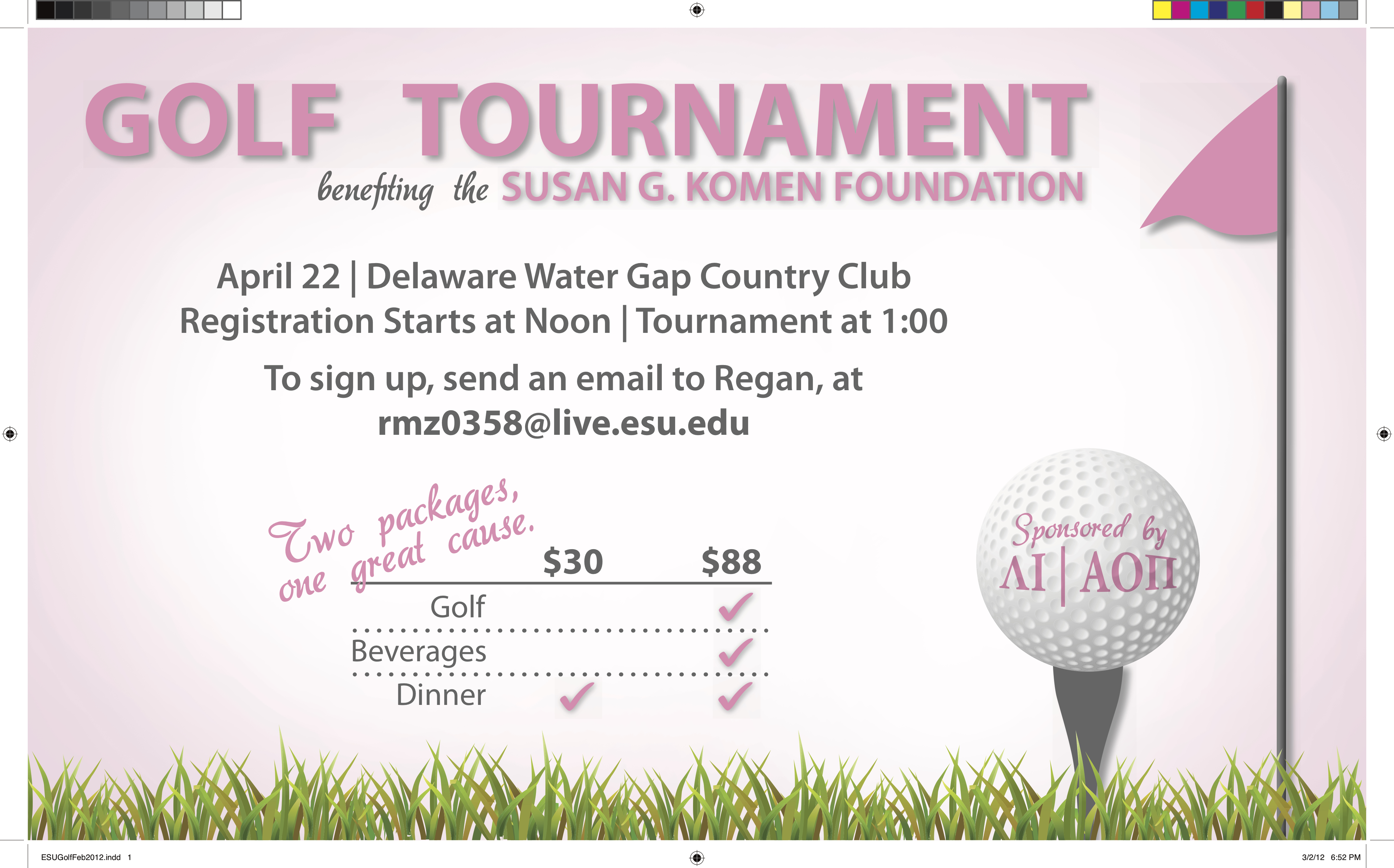 East Stroudsburg University Golf Tournament
