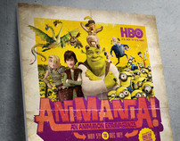 HBO AniMania! Campaign
