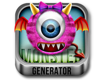FLUFFY MONSTER GENERATOR V.1.0