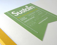 Sustain - Magazine and Branding