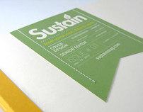 Sustain - Magazine and Branding