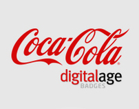 Coca Cola LikeMe Digitalage Badges