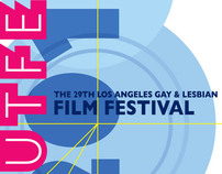 Outfest Film Festival Key Art for 2010