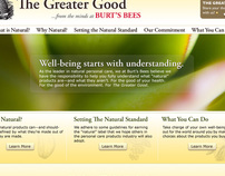 Burts Bees - The Greater Good