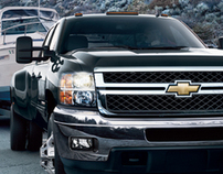 2011 Chevy Website Redesign