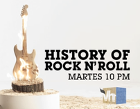HISTORY OF ROCK N´ROLL TRONCO