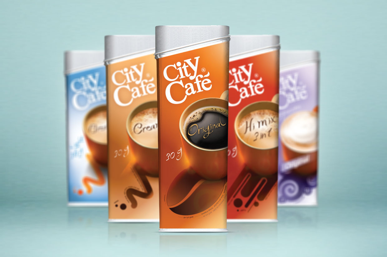 City Cafe: Repackaging