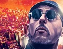 Leon The Professional- Movie Poster- Illustration