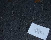 On-site installation: Love notes