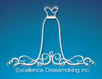Logo Design for Excellence Dressmaking inc.