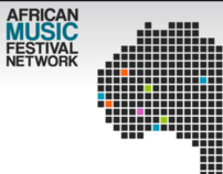 African Music Festival Network - website