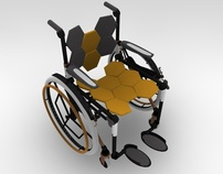 Super Folding Comb Wheelchair