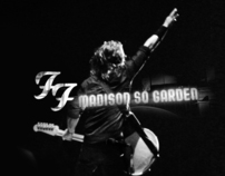 Foo Fighters Live @ Madson Square Garden