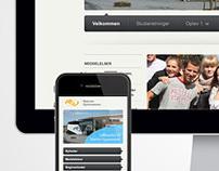 Nærum Gymnasium Website