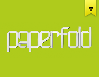 Paperfold - Digital & PhotoFont