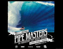 Billabong Pipe Masters Typography / Design / Branding