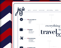 Proposed Company Branding & Website for Jet Set