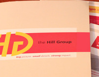 Branding and Promotional materials—The Hill Group