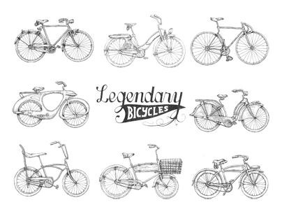 Bicycles Part 1,      Legendary bicycles
