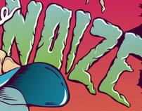 Gig Poster - Make Some Noize