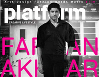 Farhan Akhtar For Platform magazine Nov 2011