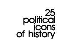 25 political icons of history