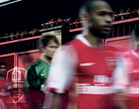 Nike and Arsenal FC. Football Has A New Home Campaign.
