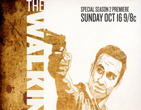 The Walking Dead Poster Campaign