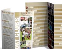 Texas State University Sport Clubs Brochure