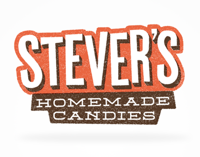 Branding: Stevers Homemade Candy