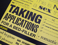 Wanted: A Male Bedfiller
