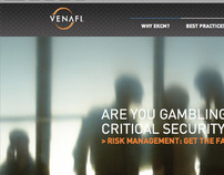 Venafi website design