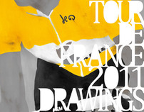 Tour de France 2011 Drawing Zine