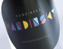 Kandinsky: Vodka Label & Packaging