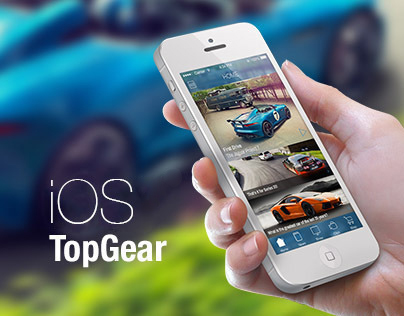 Top Gear Tribute, iOS 7 Redesign Concept