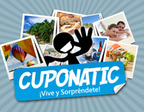 CUPONATIC - CORPORATIVE GRAPHIC